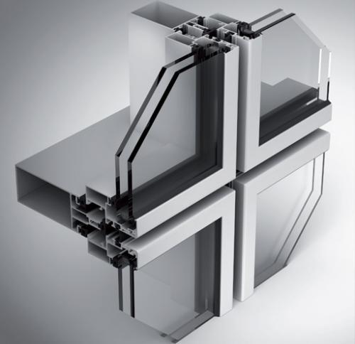 Structural Glazing Curtain Wall Systems : Kurtoğlu alüminyum kapı ve pencere sistemleri semi